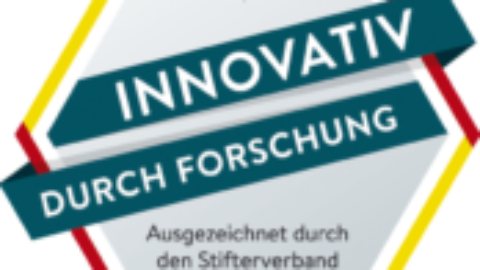 """Die B&IT Group erhält das Gütesiegel """"Innovativ durch Forschung"""" des Stifterverbandes!"""